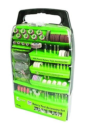 400 Piece Rotary Tool Kit Bit Accessory DIY Set