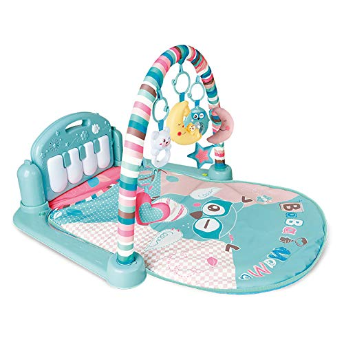 YTBLF Baby Fitness Rack Pedal Piano 0-6-12 Meses Juego recién Nacido Manta de rastreo niños y niñas