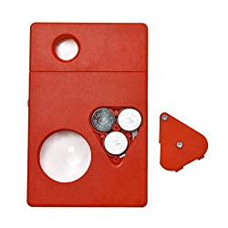 BEST DEALS - 8 In 1 Tool LED Card Pocket Magnifier