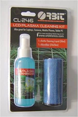 LCD Plasma TV and Laptop Screen Cleaning Kit includes Micro Fibre Cloth