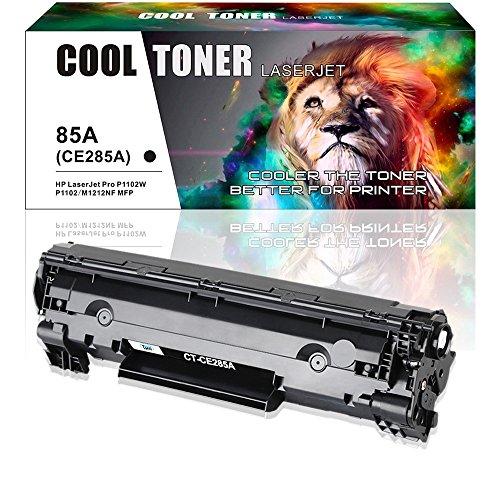 Cool Toner Kompatibel Toner 85A CE285A fuer HP 85X CE285X HP85A 285A HP Laserjet Pro P1102W P1102 M1132 M1212NF MFP HP P 1102 1102W 1100 P1100 1102W Toner Laserdrucker Patronen Schwarz