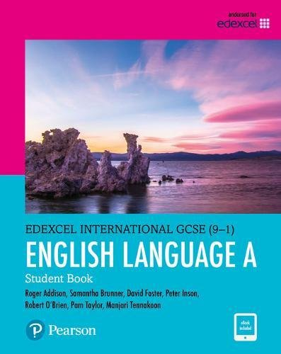 Edexcel International GCSE. English language and literature. Student's book. Per le Scuole superiori. Con e-book. Con espansione online