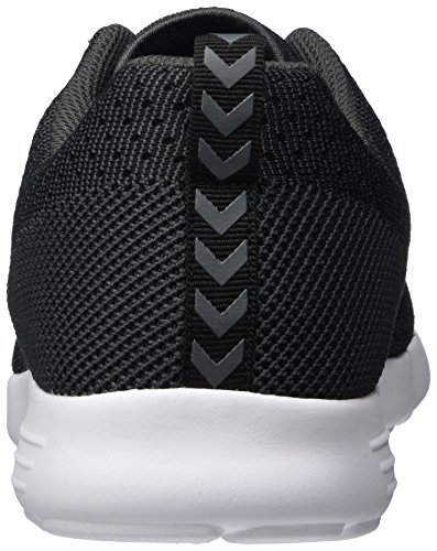 Hummel Unisex-Erwachsene Zeroknit Ii Low-Top Schwarz (Black)