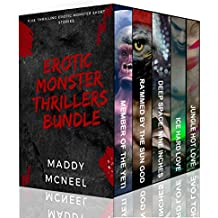 Erotic Monster Thrillers Bundle: Five Thrilling Erotic Monster Short Stories (English Edition)