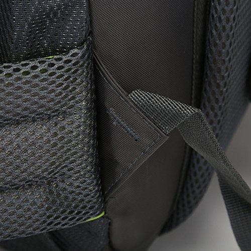 60L Große Kapazität Outdoor Sport Bergsteigen Tasche Wasserdicht Reise Tasche Green