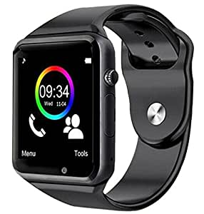 Tygot Syvo A1 Bluetooth 4G Touch Screen SmartWatch with Camera, SIM , SD Card, Multi Language Support for Android and iOS Devices (Assorted Colour)
