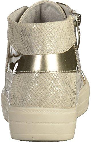 Donne Sneaker 37 38 39 40 41 grigio chiaro Tamaris Trend 1-25206-267 toccarlo Grau (L.Grey Str Com)
