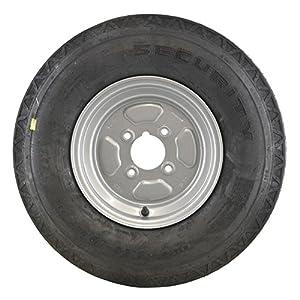 Felge und Reifen 5,00 x 10 6-lagig 4-Zoll-PCD-78N Tubeless 4 Stud