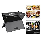 Klapp Grill Holzkohle OUTAD Picknickgrill gartengrill Terrasse Park Camping BBQ