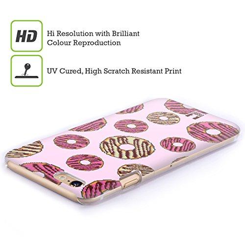 Head Case Designs Pizza Pixel Essen Ruckseite Hülle für Apple iPhone 5 / 5s / SE Donut