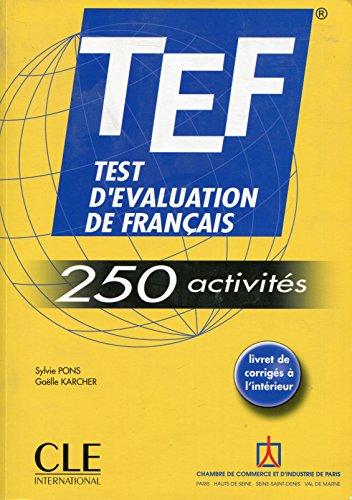 TEF 250 activités - Livre