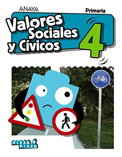 Valores Sociales y Cívicos 4. (Pieza a Pieza)