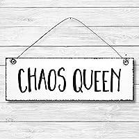 Chaos Queen – Dekoschild Türschi