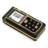 SainSmart Entfernungsmesser Lasermessgerät, Handheld Distance Measurer Kit, Laser Point Distance Meter Range Finder (80m)