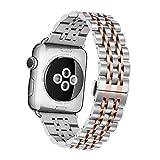 Apple Watch Armband,EloBeth Edelstahl Replacement Wrist Band Watchband Strap Uhrenarmband...