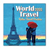 World Travel 2020 Calendar: Retro Travel Posters
