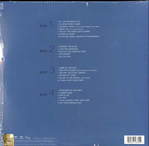 514RoPkPC7L - Ultimate Sinatra - Best Of [Vinyl LP]