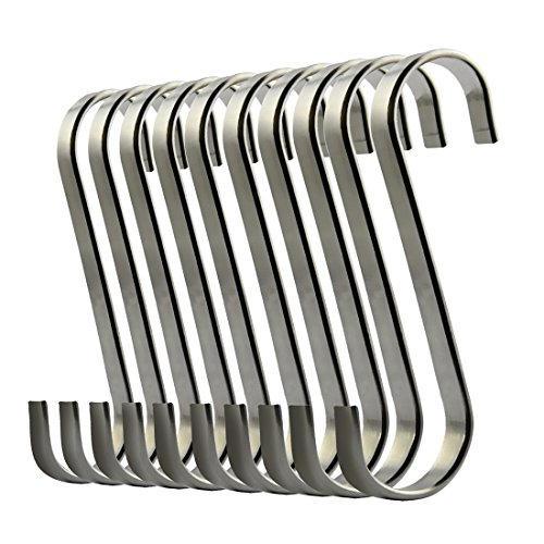 Home Improvement 15 Pcs Pratical Heavy-duty S Shaped Iron Metal Hook Display Hooks Hanging Hooks Hanger For Garden Home Supermarket Clients First