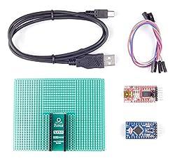 Arduino Pro Mini Prototyping General Purpose PCB (Arduino Pro Mini Included in The Box)