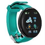CCWL Reloj Deportivo Smart Watch Sleep Tracker Ritmo cardíaco Tracke Smart Watch Hombres Mujeres Presión Arterial Sport Smart Watch Blood Oxygen Sports WatchGreen
