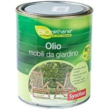 Syntilor - Aceite para madera exterior, agua orgánica, 1L