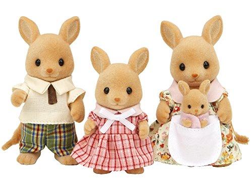 Sylvanian Family 3148 - Bambole e accessori, Famiglia Canguro