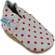Juicy Bumbles Chaussure Bebe Garcon - Chausson Enfant Garcon - Chaussures  Bébé - Chaussons Bébé Cuir 70c6b9da716a