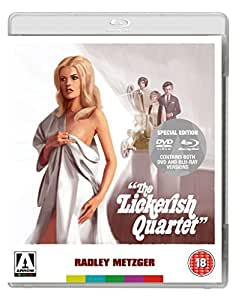 The Lickerish Quartet Dual Format [Blu-ray] [1970][Region Free]
