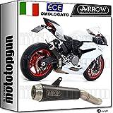 ARROW AUSPUFF PRO-Race NICHROM SCHWARZ Ducati PANIGE 959 2017 17 71880PRN
