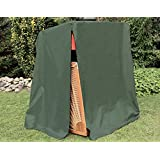"""Console cas jardin chaise longue cas """"Premium""""-2 1/2 places Vert 150 x 105 x 165/140 cm"""