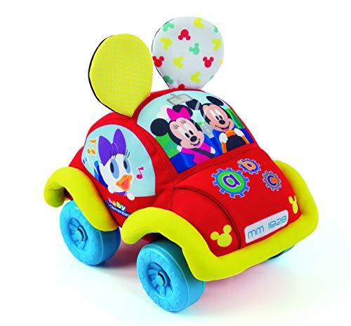 Disney Baby Coche Blandito Interactivo, Multicolor (Clementoni Spain 55259)