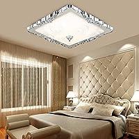 Cosa Simple moderna lámpara de techo LED Lámpara DORMITORIO Habitación Restaurante Salón de Iluminación Iluminación ( Color : Plata )