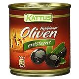 Produkt-Bild: Kattus schwarze Hojiblanca Oliven, entsteint, 80 g
