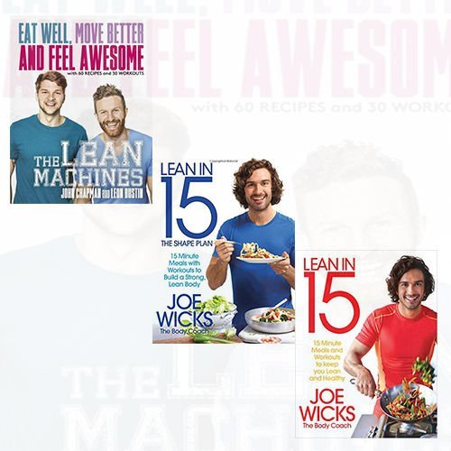 [PDF] Téléchargement gratuit Livres Lean Machines,Lean in 15 and The Shape Plan 3 Books Bundle Collection - Eat Well, Move Better and Feel Awesome, 15 minute meals with workouts to build a strong, lean body, 15 minute meals and workouts to keep you lean and healthy by John Chapman (2016-11-09)