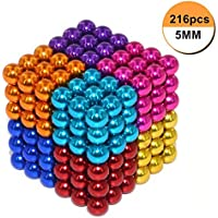 Magicwand® DIY 216 Multi-Colored Balls for Home,Office Decoration & Stress Relief etc (8 Colors Guaranteed))