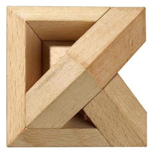 Philos 5555  -  Juego rompecabezas de piezas de madera Importado de Alemania