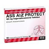 ASS AbZ PROTECT 100 mg magensaftresist.Tabl. 50 St Tabletten magensaftresistent