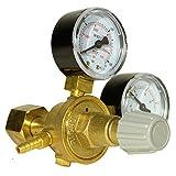 Druckminderer, Druckregler für Argon/CO2 Schutzgas zu MIG-Schweißgerät