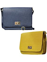 Stalkers Premium Designer Women Sling Bag Combo Of 2 Sling Bag