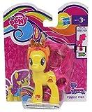 MLP My Little Pony Esplora Equestria Figure per Lo Styling, con Pettine e Fascia Glitterata, codice sul Piede per l'APP, Personaggio per Ragazze, Bambini (Fiore di Campo, Rosa) (Pursey Pink)