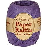 Eleganza Paper Raffia 8mm x 30m No.36 Purple