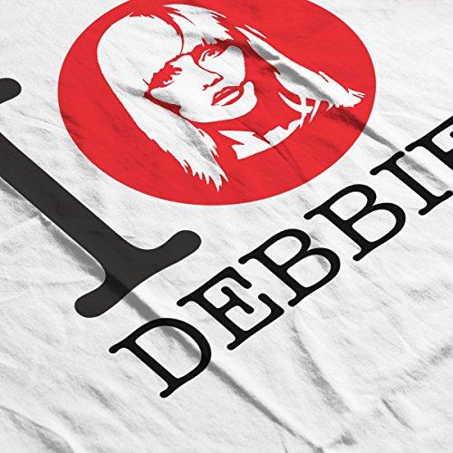 I Heart Debbie Harry Men's T-Shirt White