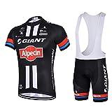 Strgao 2016 Herren Pro Rennen Team Giant MTB Radbekleidung Radtrikot Kurzarm und Tr?gerhose Anzug Bib shorts suit