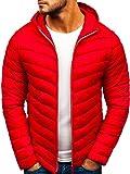 BOLF Blouson de Transition Sportif Matelassé J.Style LY1016 Rouge XL [1A1]