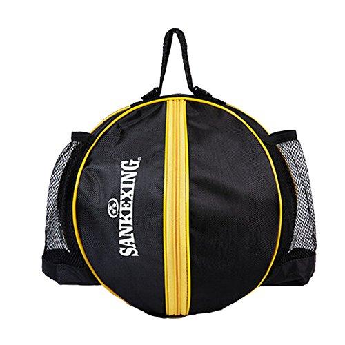 Sporttasche Basketball Fußball Volleyball Bowling Bag Carrier-,schwarz A