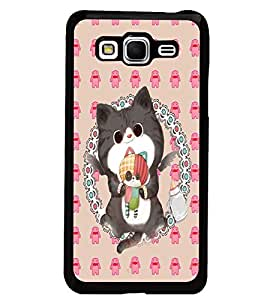 PrintDhaba Kitty D-4267 Back Case Cover for SAMSUNG GALAXY GRAND PRIME (Multi-Coloured)