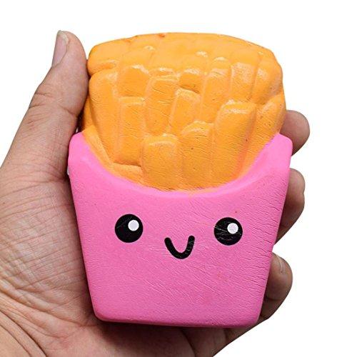 WINWINTOM 12CM Pommes Frites Sahne Duft Squeeze 6 Zweite Slow Rising Spielzeug