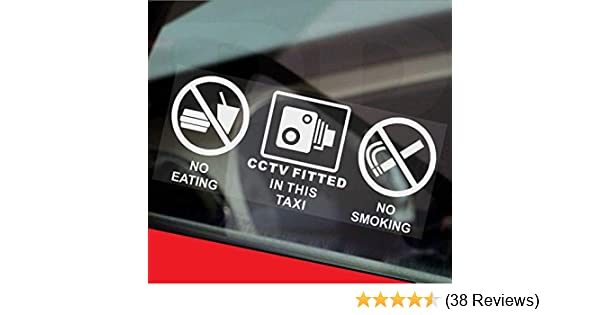 2 X STICKERS DAMAGE SOILING HIRED VEHICLE FEE STICKER HIRE CAR VAN