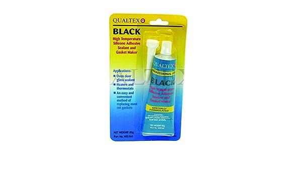 Black Tough High Temp Oven Door Seal Gasket Silicone Glass Sealant