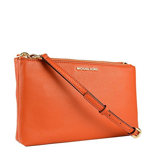 MICHAEL by Michael Kors Adele Orange Crossbody Sac Orange
